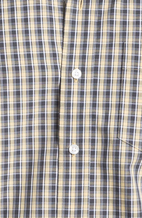 Alternate Image 3  - Cutter & Buck 'Midvale' Check Sport Shirt (Big & Tall)