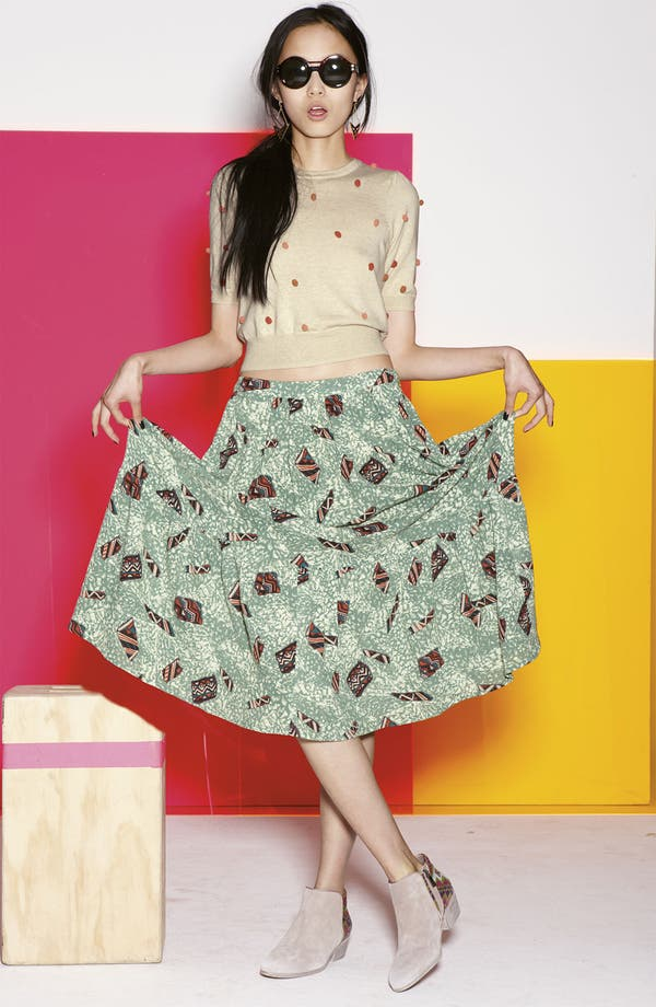 Alternate Image 3  - Viva Vena! 'Mind Reader' Tiered Midi Skirt