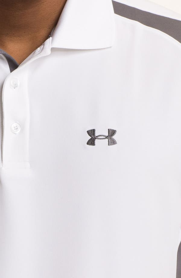 Alternate Image 3  - Under Armour HeatGear® Performance Polo