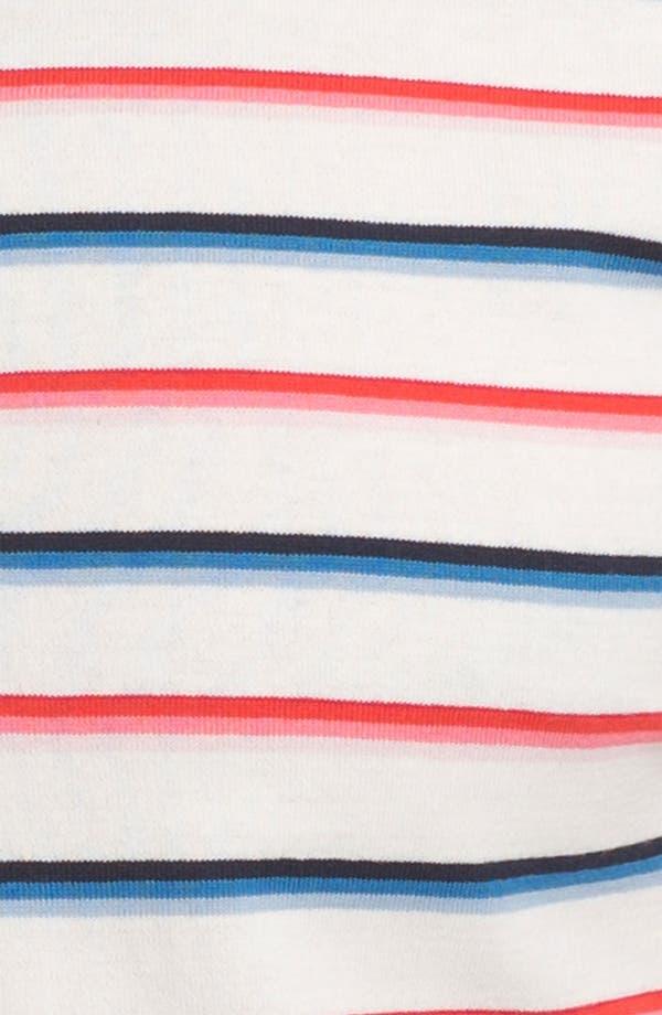 Alternate Image 3  - Thom Browne Stripe Cotton Jersey Polo
