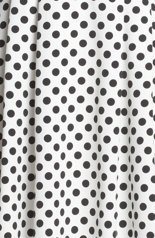 Alternate Image 3  - Adrianna Papell Polka Dot Fit & Flare Dress