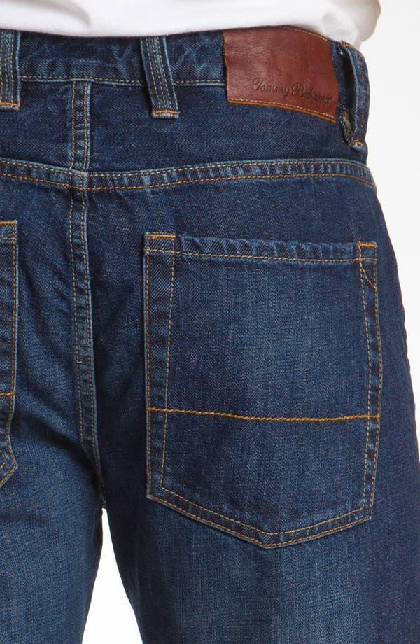 Alternate Image 4  - Tommy Bahama Denim 'Steve Standard Fit' Jeans (Resin)