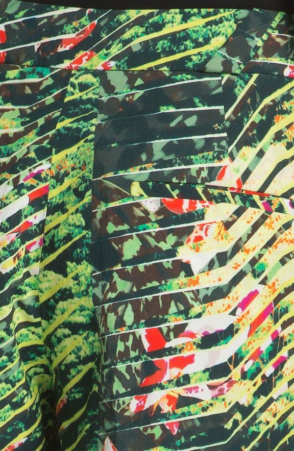 Alternate Image 3  - KENZO Forest Print Poplin Bermuda Shorts