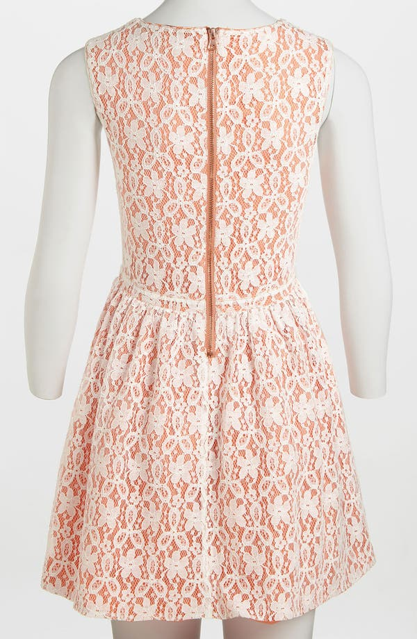 Alternate Image 3  - MINKPINK 'Fanciful' Fit & Flare Lace Overlay Dress
