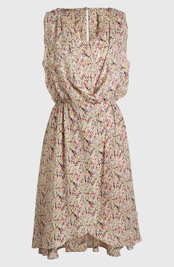 Main Image - I.Madeline Print Cinch Waist Dress