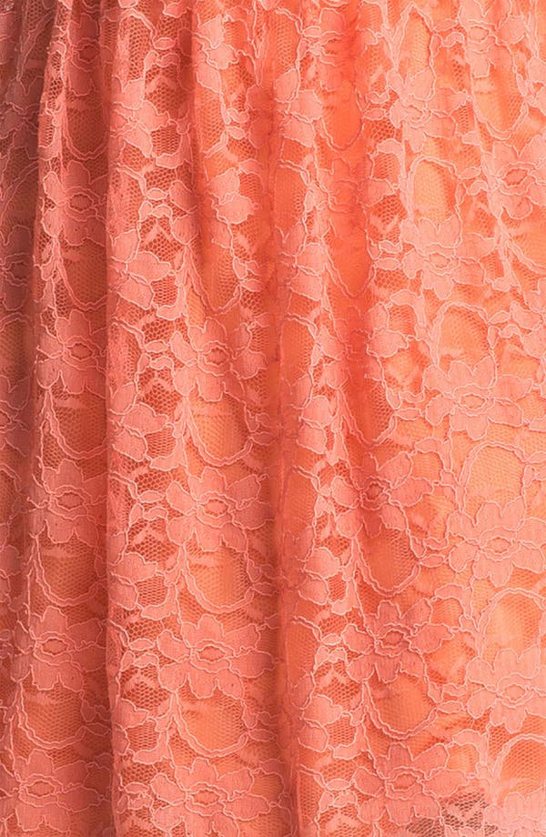 Alternate Image 3  - Way-In Cutout Lace Skater Dress (Juniors)