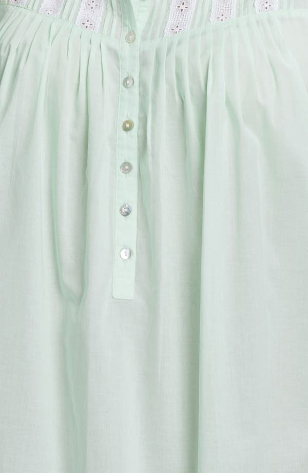 Alternate Image 3  - Eileen West 'Morning Dew' Nightgown (Plus)