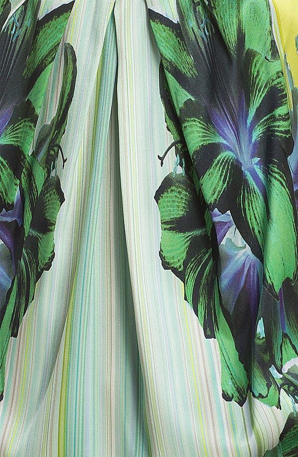 Alternate Image 3  - Elie Tahari 'Regan - Mirror Orchid' Sleeveless Blouse