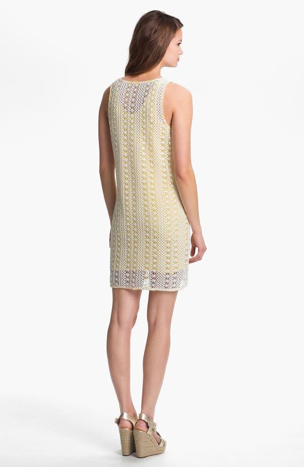 Alternate Image 2  - Press Crochet Overlay Dress