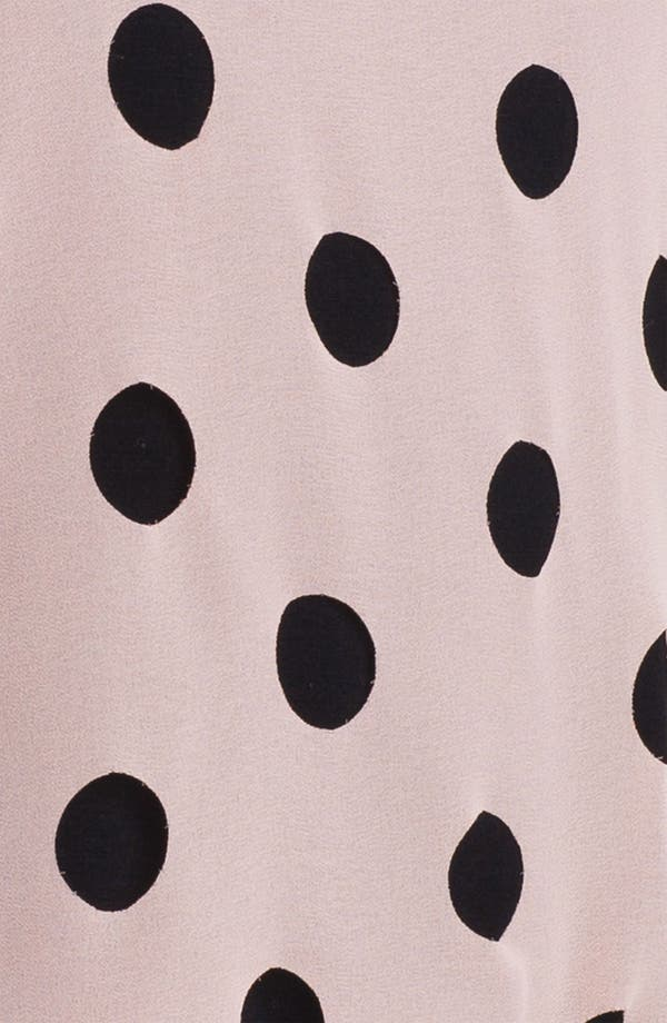 Alternate Image 3  - Olive & Oak Dot Front Blouse