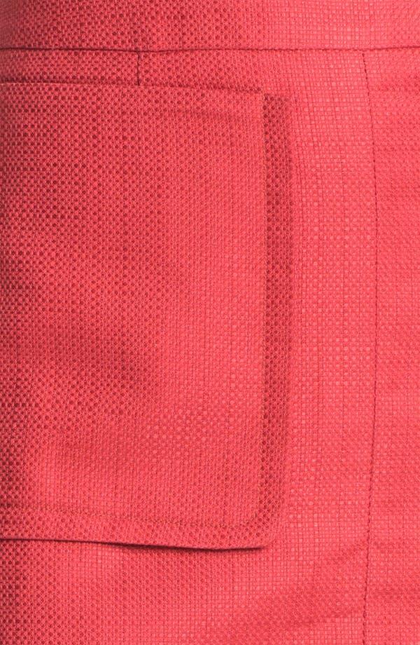 Alternate Image 3  - Halogen® Patch Pocket A-Line Skirt