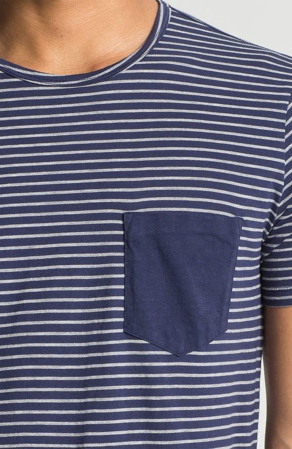 Alternate Image 3  - AG Jeans Stripe T-Shirt
