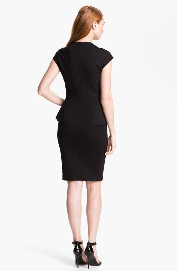 Alternate Image 2  - Ted Baker London Stretch Sheath Dress