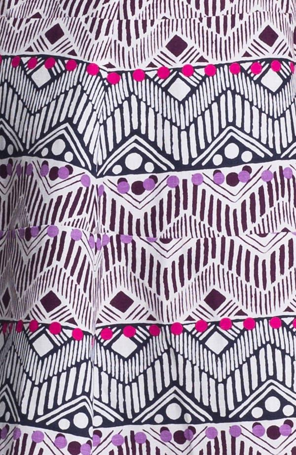 Alternate Image 3  - Nanette Lepore 'Deep Cove' Silk Blend Fit & Flare Dress