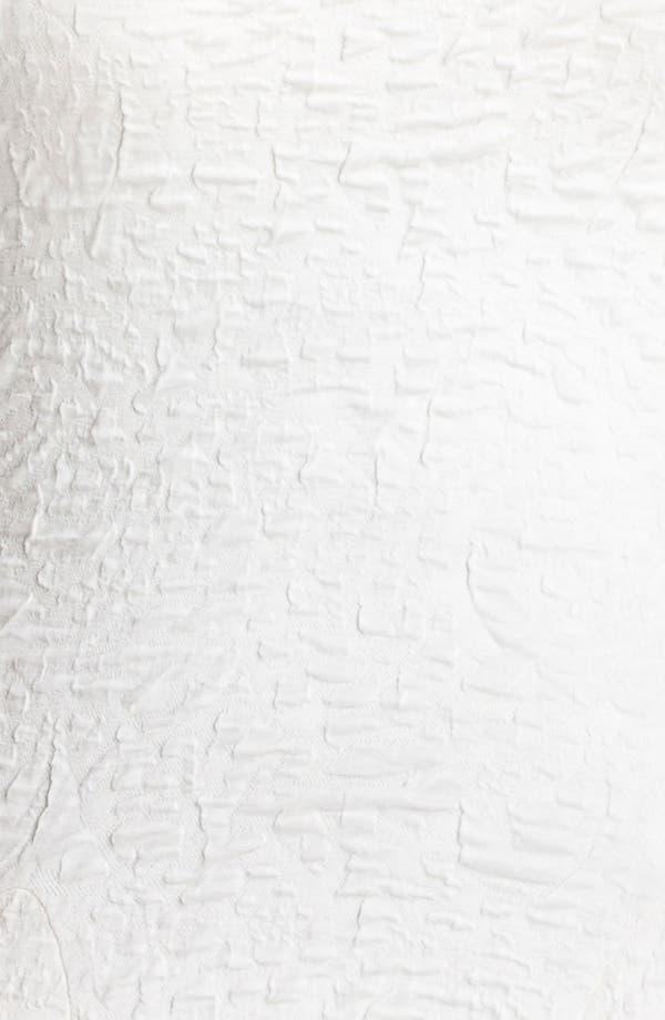 Alternate Image 3  - A.B.S. by Allen Schwartz Textured Drop Waist Dress (Plus Size) (Online Only)