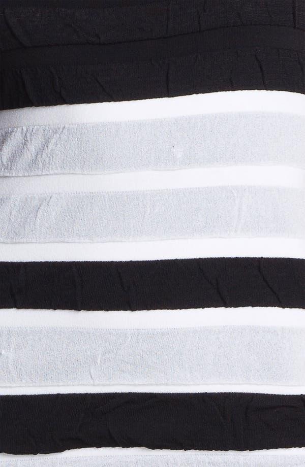 Alternate Image 3  - Nicole Miller Textured Stripe Tank Dress