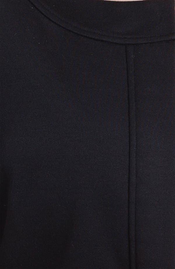 Alternate Image 3  - Sejour Zip Front Ponte Knit Jacket (Plus Size)