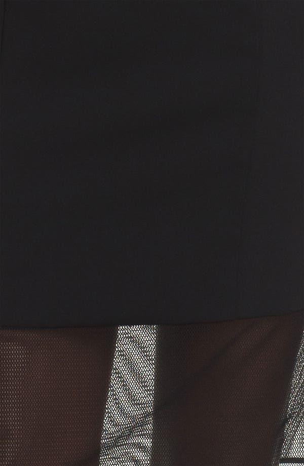 Alternate Image 3  - Jay Godfrey 'Dorchester' Mesh Detail Sheath Dress