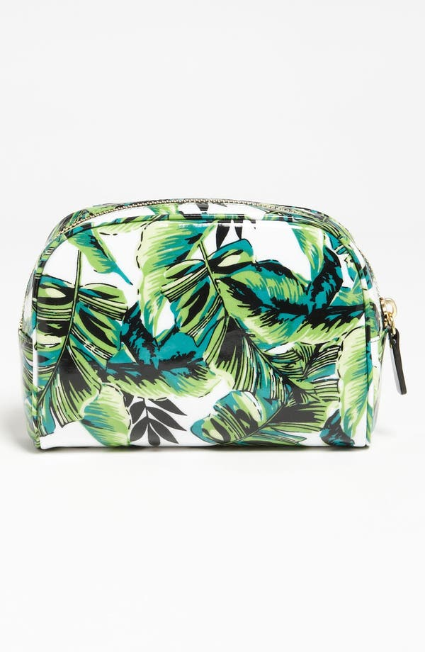 Alternate Image 4  - Milly 'Banana Leaf' Cosmetics Case