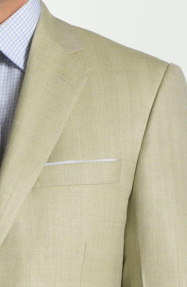 Alternate Image 3  - Samuelsohn Silk Blend Sportcoat
