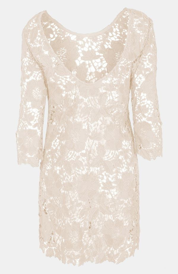 Alternate Image 2  - Topshop Guipure Lace Cover-Up