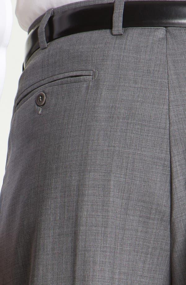 Alternate Image 3  - Zanella 'Bennett' Pleated Wool Trousers
