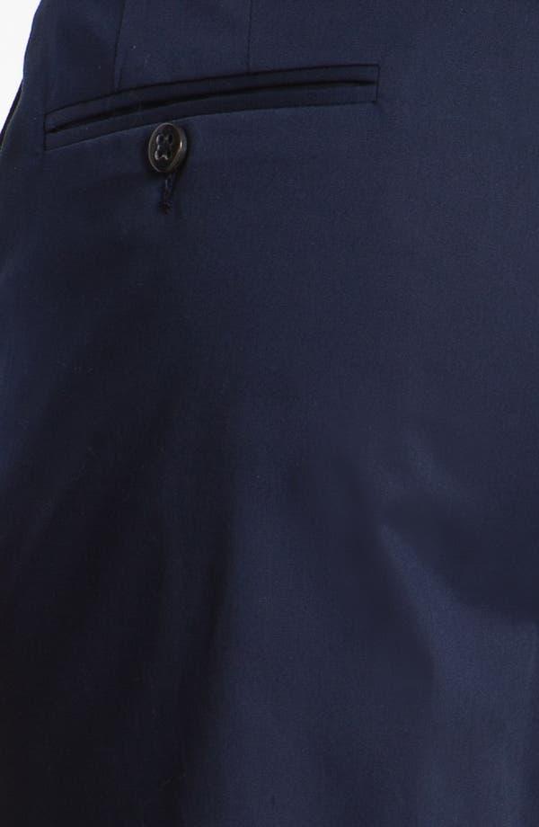 Alternate Image 3  - Zanella 'Devon' Flat Front Seersucker Trousers