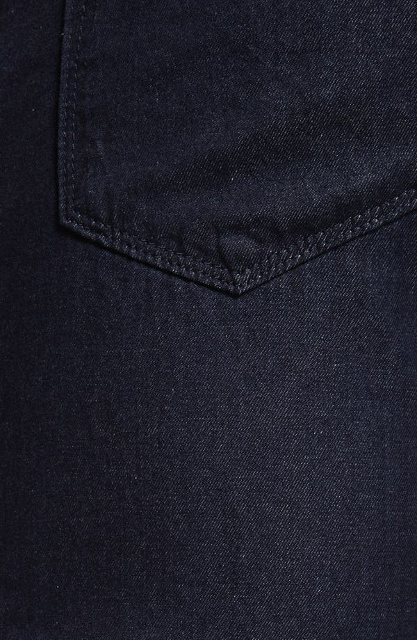 Alternate Image 4  - BOSS Black 'Maine' Straight Leg Jeans (Dark Rinse)