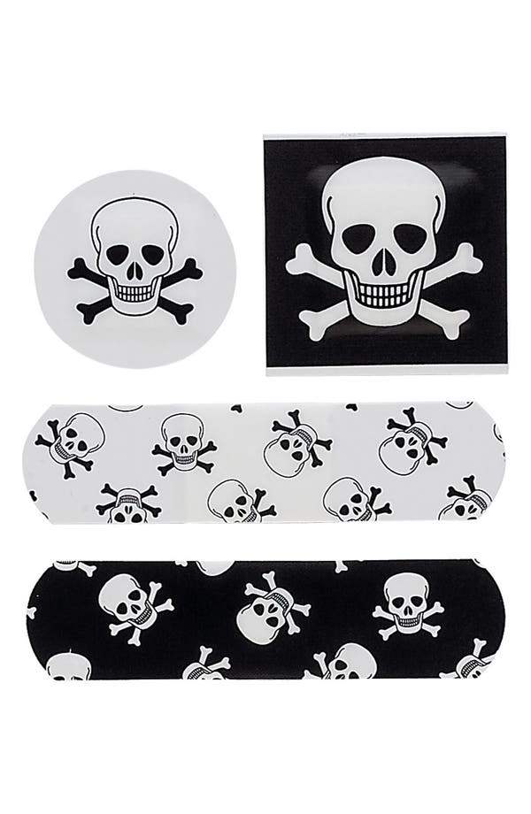 Alternate Image 2  - NPW 'OUCH!™ - Skulls & Bones' Bandages (Juniors)