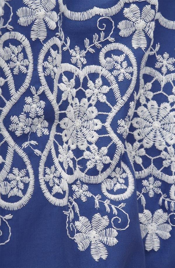 Alternate Image 4  - Topshop Embroidered Dress