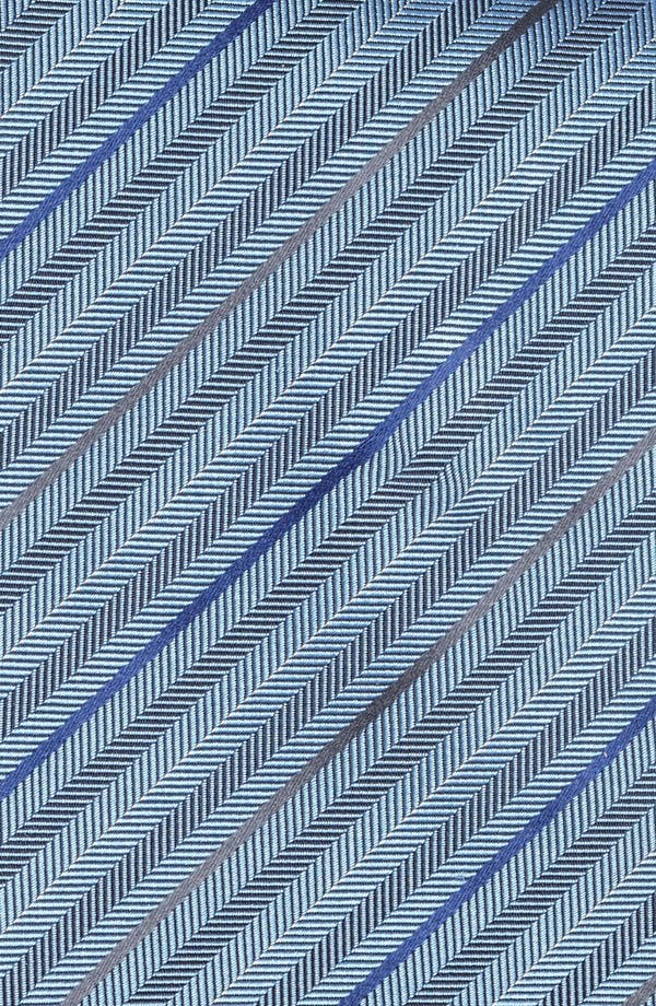 Alternate Image 3  - Z Zegna Herringbone Stripe Woven Silk Tie