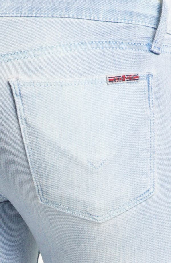Alternate Image 3  - Hudson Jeans 'Krista' Super Skinny Jeans (Bondi Blue)