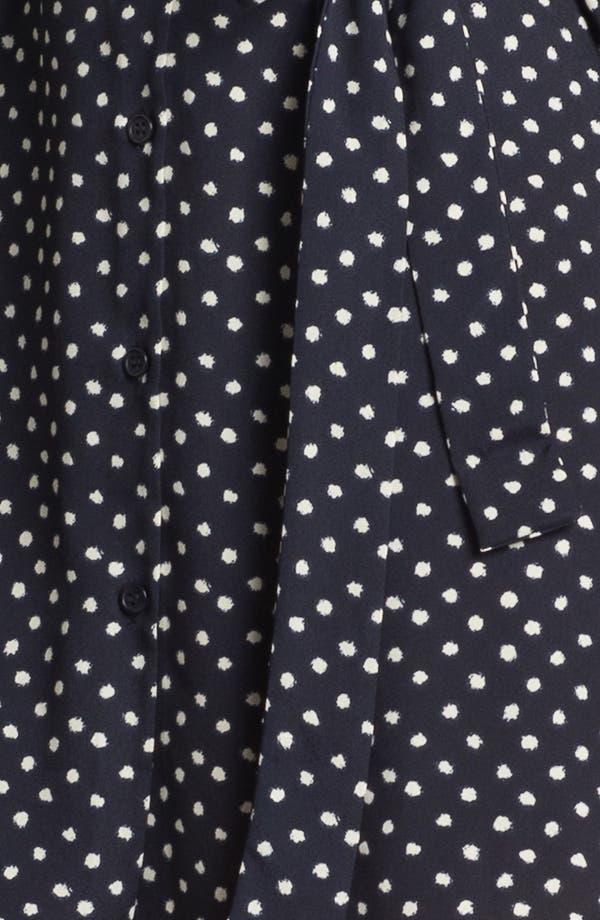Alternate Image 3  - Collective Concepts Polka Dot Shirtdress