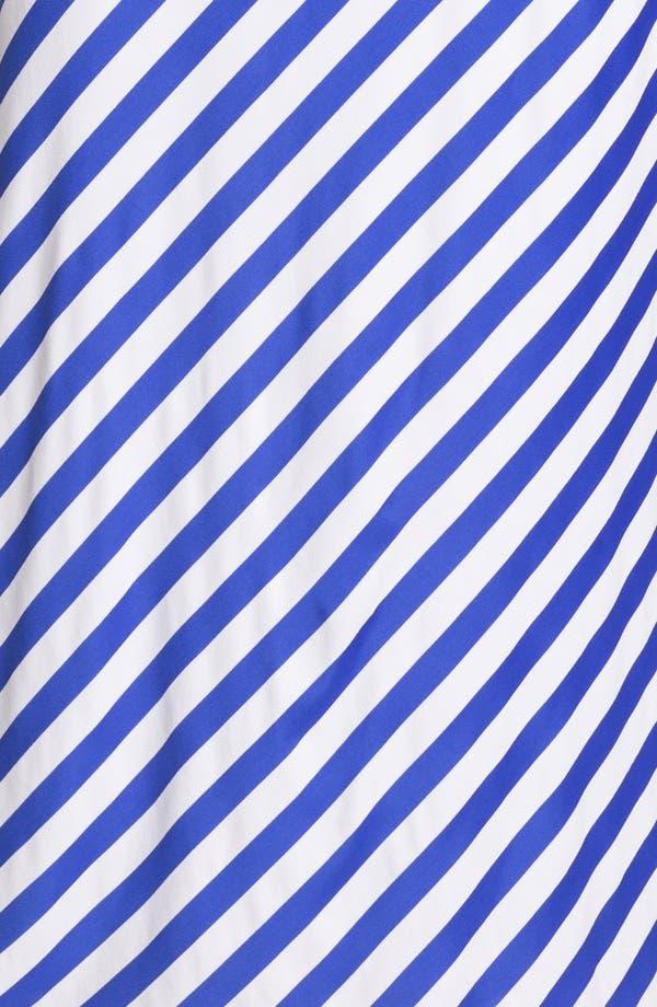 Alternate Image 3  - Susana Monaco Diagonal Stripe Maxi Dress