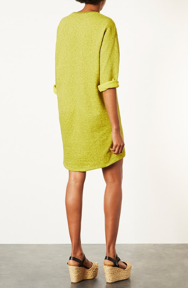 Alternate Image 3  - Topshop Sweatshirt Dress