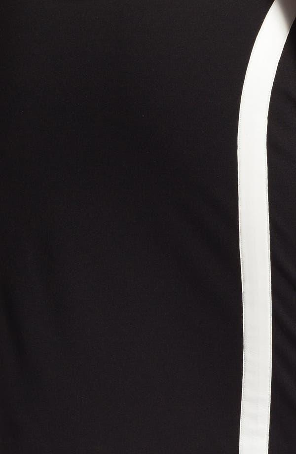 Alternate Image 3  - DKNYC Leather Trim Skirt