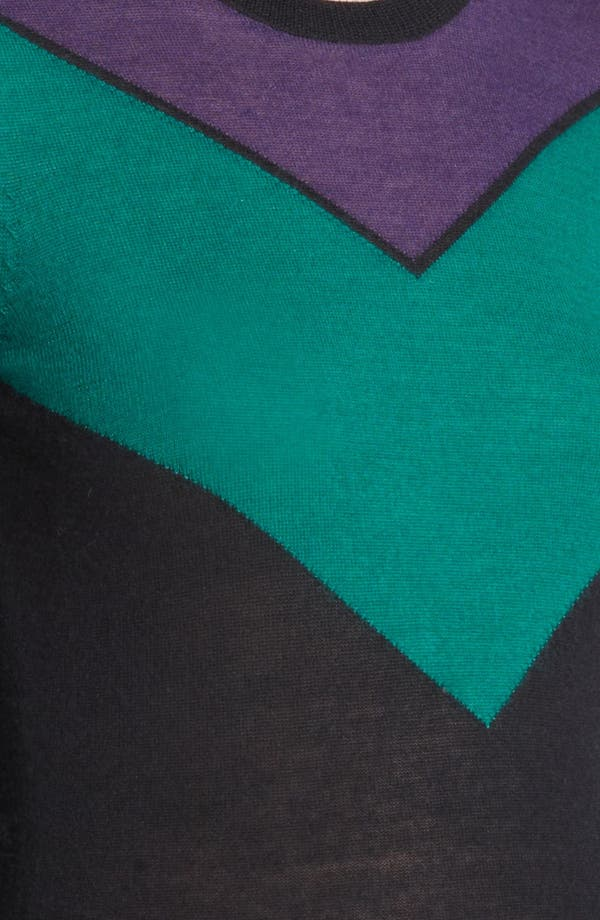 Alternate Image 3  - Jason Wu Chevron Cashmere & Silk Sweater