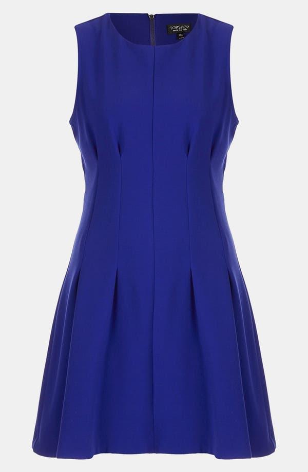 Alternate Image 2  - Topshop Seam Waist Dress