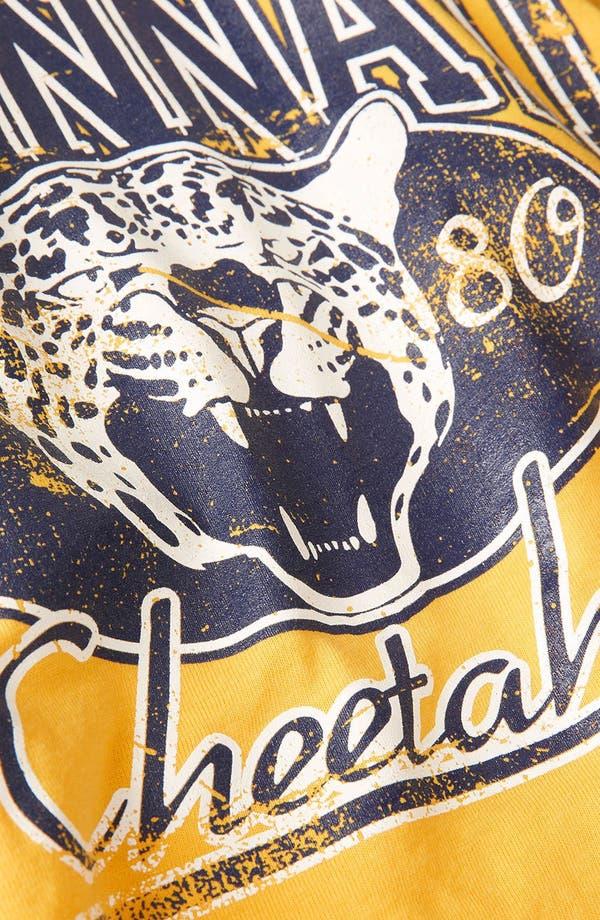 Alternate Image 3  - Topshop 'College Cheetah' Crop Tee (Petite)