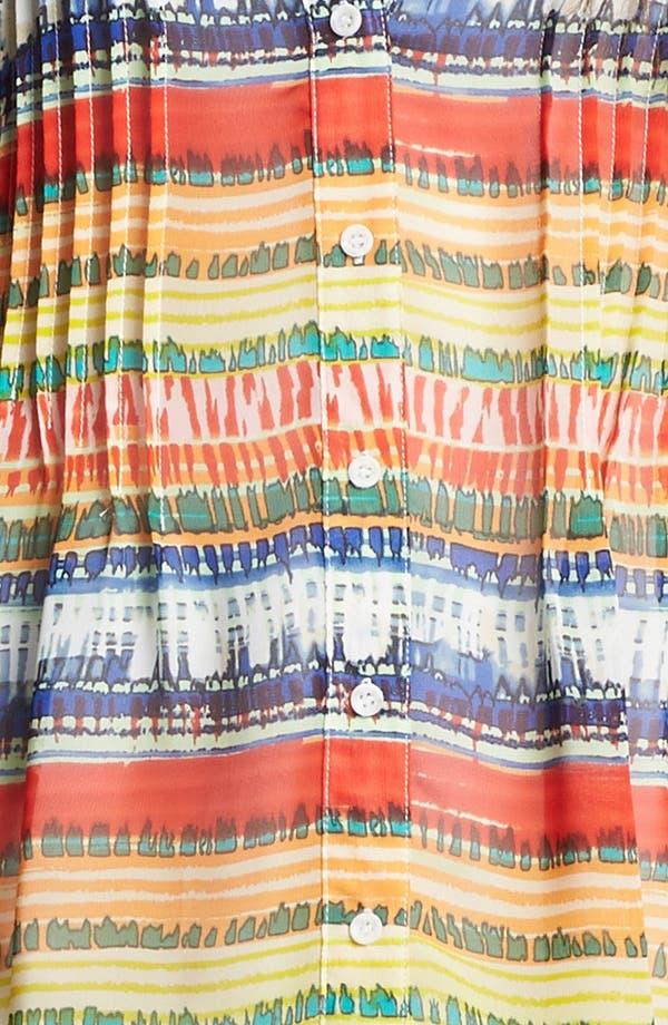 Alternate Image 4  - Chaus Ethnic Stripe Chiffon Blouse