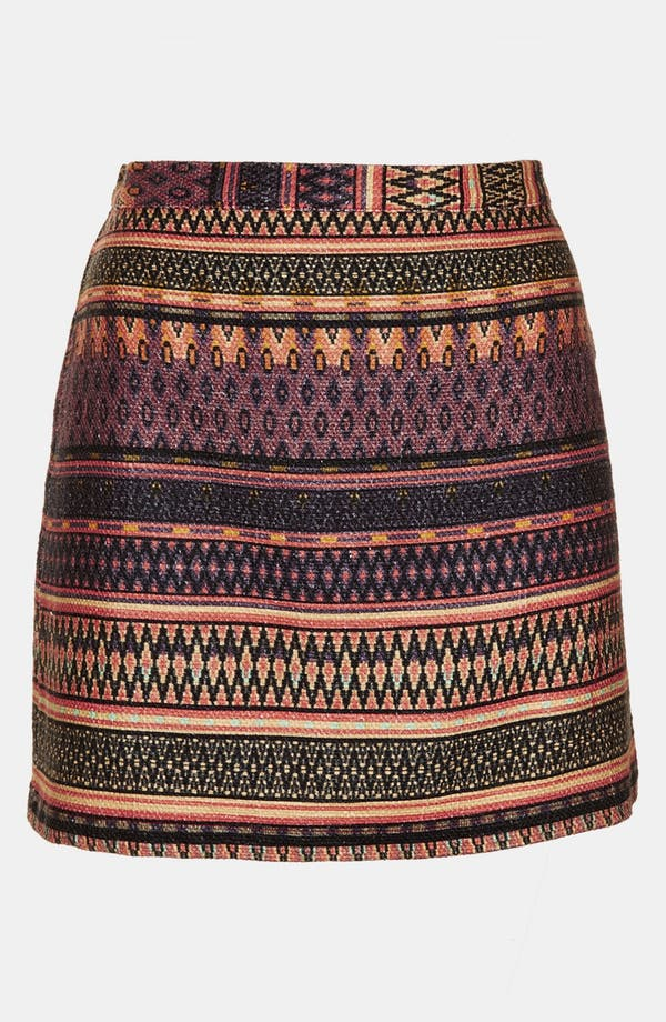 Alternate Image 3  - Topshop 'Safari' Ikat A-Line Skirt