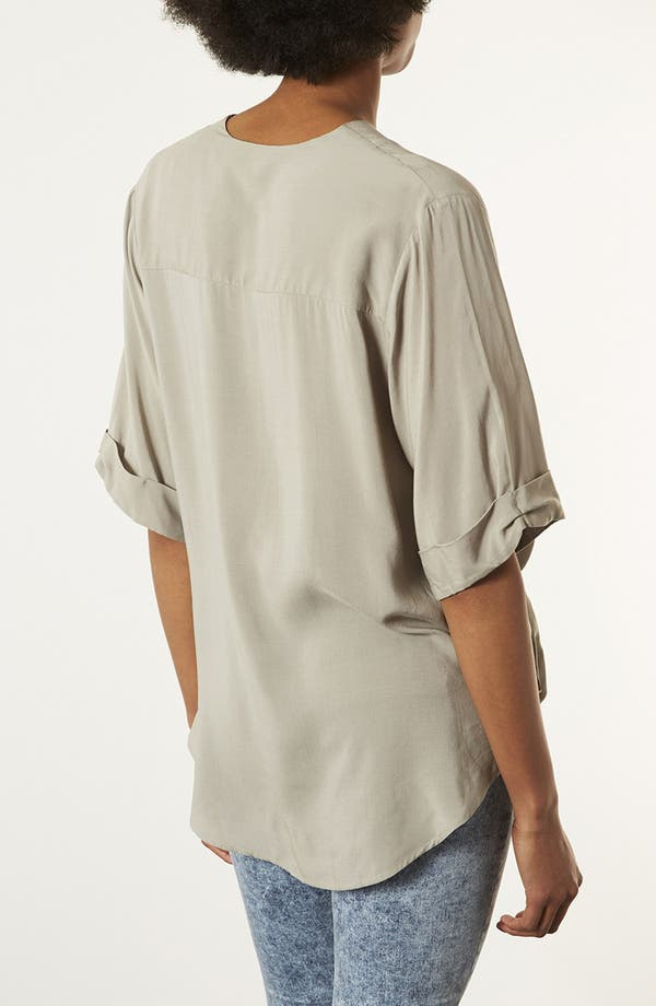 Alternate Image 2  - Topshop Draped Surplice Top