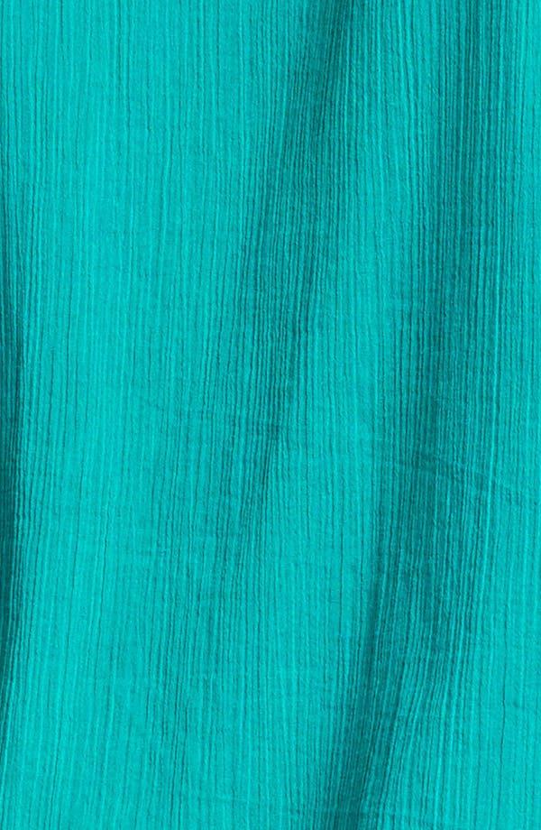 Alternate Image 3  - Lucky Brand 'Juniper' Contrast Thread Cotton Top (Plus Size)