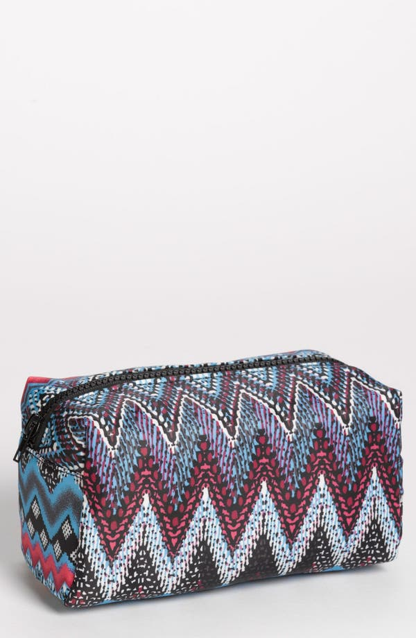 Alternate Image 1 Selected - BP. 'Blue Waves' Cosmetics Bag (Juniors)