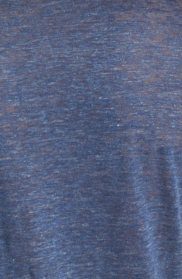 Alternate Image 3  - Vince V-Neck Linen T-Shirt
