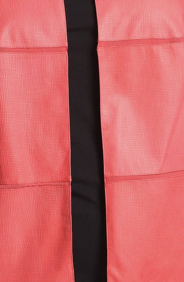 Alternate Image 3  - Lafayette 148 New York Leather Jacket (Plus Size)