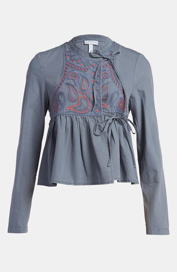 Alternate Image 1 Selected - Leith 'Embroidered Island' Jacket