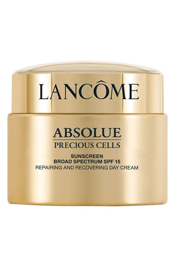 Main Image - Lancôme Absolue Precious Cells SPF 15 Repairing and Recovering Moisturizer Cream