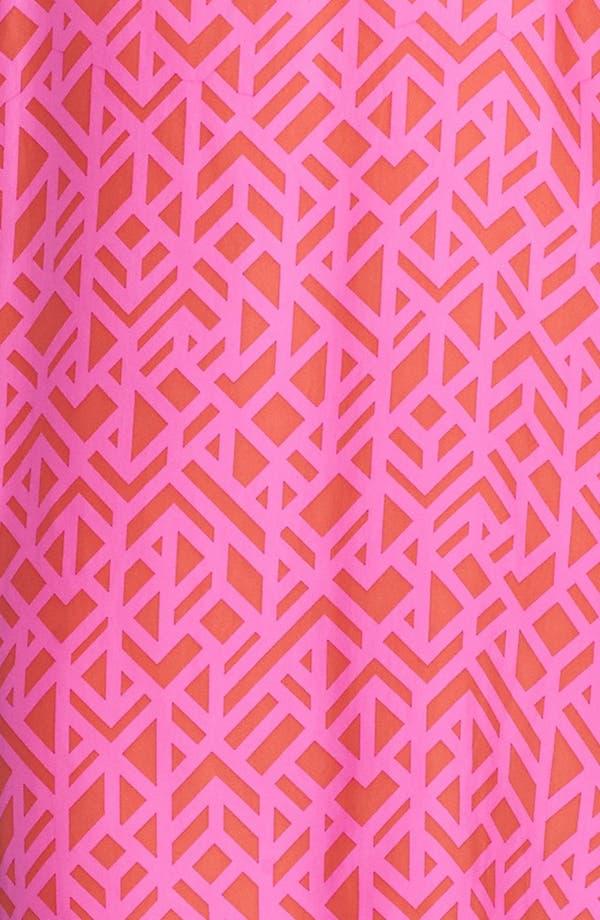 Alternate Image 3  - ALICE & TRIXIE 'Mila' Racerback Print Silk Slipdress