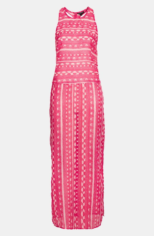 Alternate Image 3  - Topshop 'Sunset' Print Maxi Cover-Up